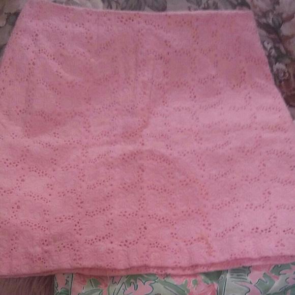 Lilly Pulitzer Dresses & Skirts - Sale! BOGO 50% Vintage Lilly Pulitzer Eyelet Skirt